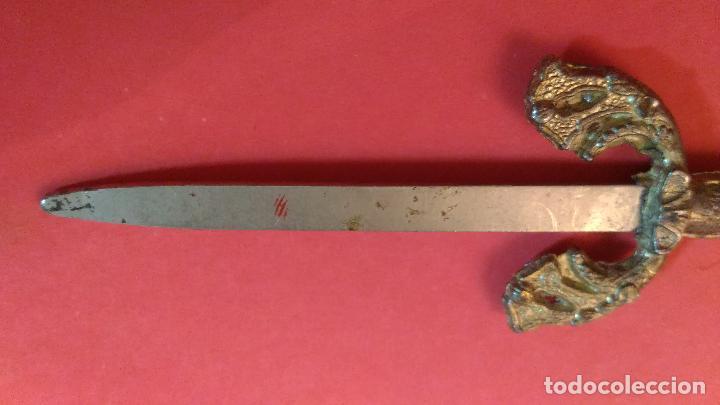 Escribanía: ESPADA EN MINIATURAS. Abrecartas. Abre cartas con forma de espada. 8,5 CM - Foto 6 - 101777483