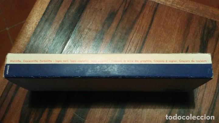 Escribanía: Lapices Johannes Faber Goldfaber N° 871 Color Azul Formato Jumbo Año 1940 Alemania - Foto 2 - 103746615