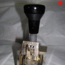 Escribanía: FECHADOR O MARCADOR GRANDE DE 15 X 6 CM PATENTE ALEMANA. Lote 104068247