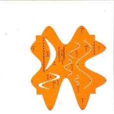 Escribanía: PLANTILLA STANDARDGRAP Nº 3 330 SINUSKURVEN-SCHABLONE. Lote 105016903