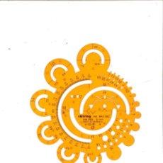 Escribanía: PLANTILLA ROTRING ART 842 682 DIN 250. Lote 105017087