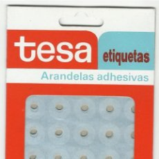 Escribanía: ARANDELAS ADHESIVAS. TESA.. Lote 109053423