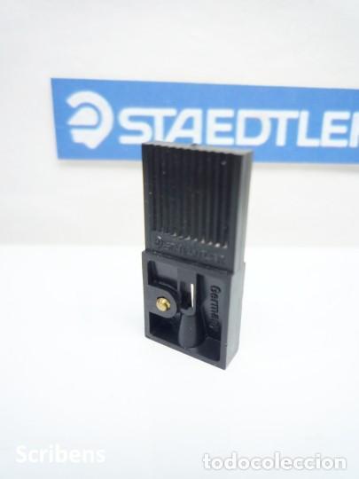Escribanía: STAEDTLER, ANTIGUO SACAPUNTAS AFILAMINAS 2 MM. GERMANY. 70's - Foto 2 - 110054235