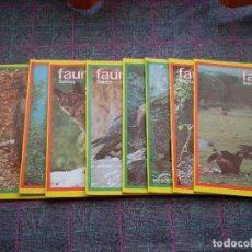 Escribanía - Lote de 8 cuadernos de Félix Rodríguez de la Fuente de Fauna Ibérica de la marca Centauro. Nuevos. - 111344231