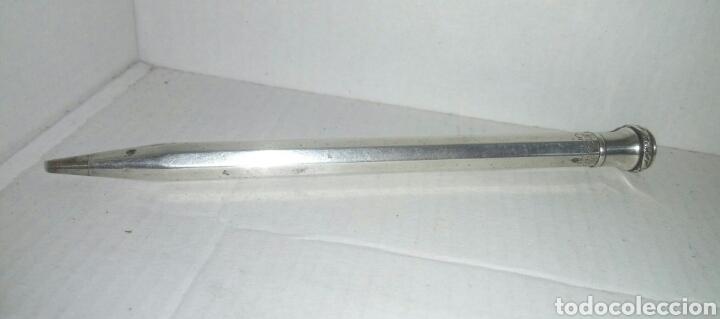 Escribanía: Portaminas Wahl Eversharp Silver Plated Made in USA - Foto 2 - 111537380