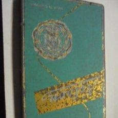 Escribanía: CAJA METALICA ANTIGUA DE LAPICES DE COLORES NELSON - VACIA - MADE IN GERMANY. Lote 113715151