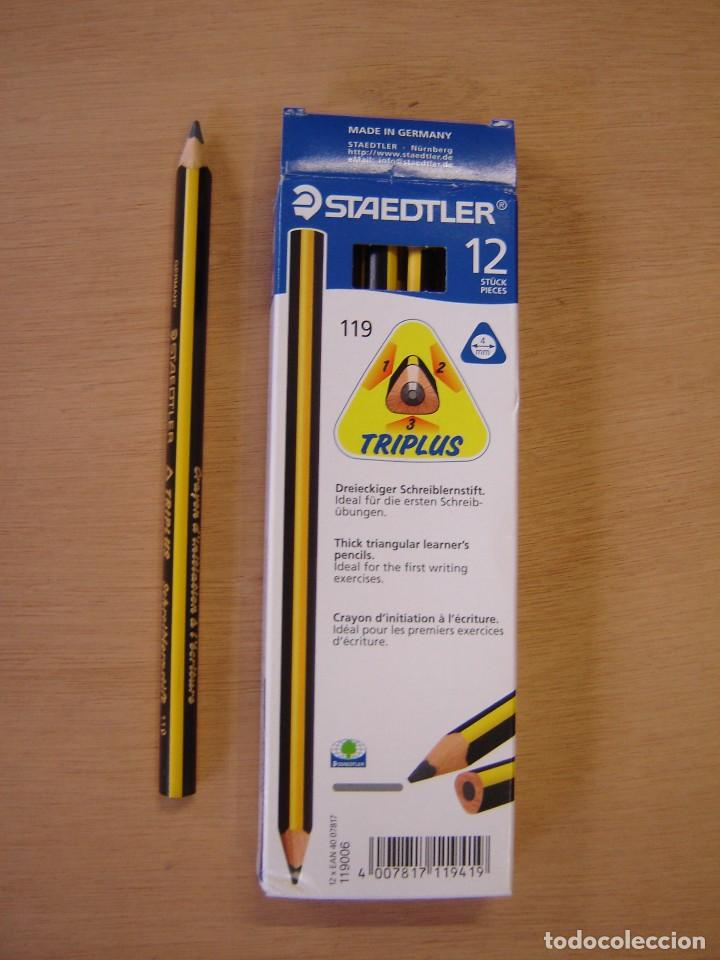 CAJA DE 12 LÁPICES - TRIPLUS - 119 - STAEDTLER (Plumas Estilográficas, Bolígrafos y Plumillas - Plumillas y Otros Elementos de Escribanía)