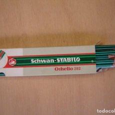 Escribanía: CAJA DE 12 LÁPICES DE GRAFITO - 3B=1 - OTELLO 282 - SCHWAN - STABILO. Lote 127996530