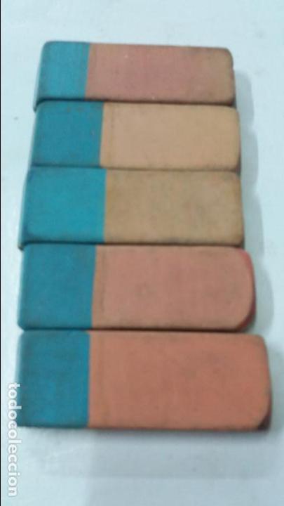 Escribanía: lote de 5 borragomas de pelikan br40 mexico - Foto 2 - 114705275