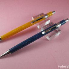 Escribanía: NN4399-LOTE 2 PORTAMINAS-MECHANICAL PENCIL-AMARILLO+AZUL-NOS-VER FOTOS. Lote 114848791