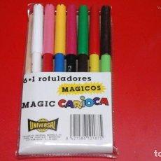 Escribanía: ROTULADORES MÁGICOS CARIOCA. Lote 116125995