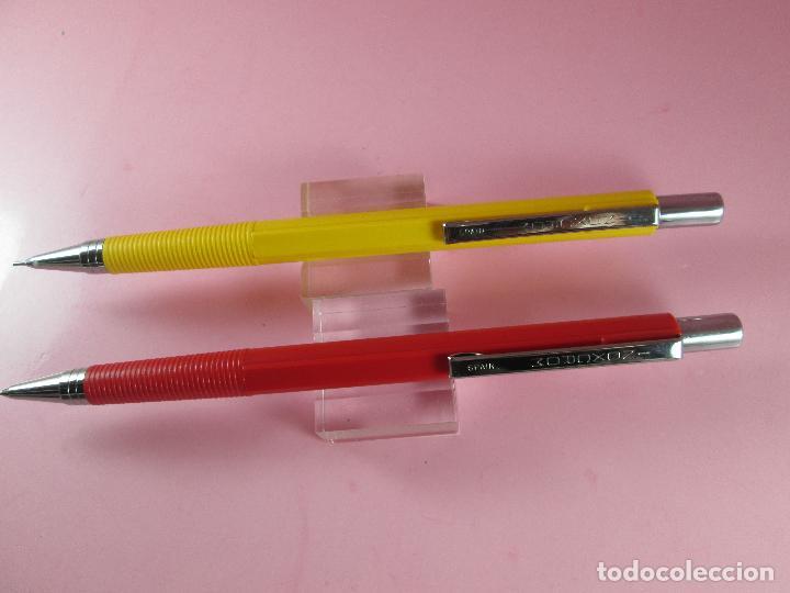 Escribanía: *4419-lote 2 portaminas-inoxcrom o,5 mm-España-descatalogados-nos-ver fotos - Foto 2 - 116137231