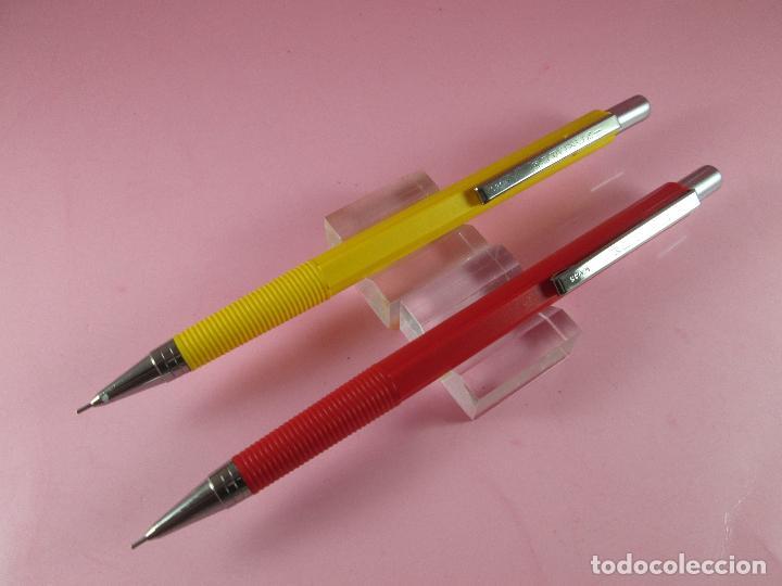 Escribanía: *4419-lote 2 portaminas-inoxcrom o,5 mm-España-descatalogados-nos-ver fotos - Foto 3 - 116137231