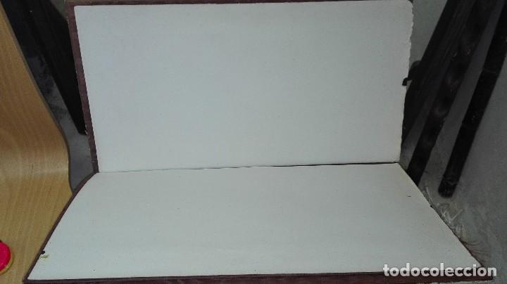 Escribanía: Plumier de principiios de siglo. Papel original . MEDIDAS 50 x 36 cms - Foto 2 - 116231151