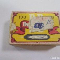 Escribanía: CAJA. PLUMAS. DOBLE B. Nº 730. ACERO FINO. CONTIENE PLUMILLAS. VER. Lote 172686438