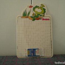 Escribanía: PIZARRA VELLEDA DE LOS SNORKELS CON ROTULADORES. AÑO 1986. NUEVA.. Lote 116568987