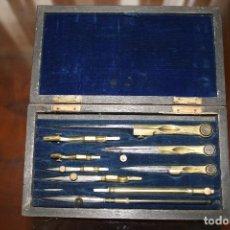 Escribanía: ANTIGUA CAJA DE COMPASES.. Lote 117739911