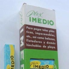 Escribanía: EXPOSITOR DE TUBOS DE PEGAMENTO / PLEX IMEDIO / 21 TUBOS MEDIANOS / CALZADA DE CALATRAVA. Lote 118449615