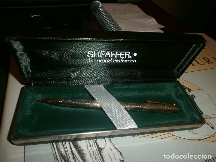 Escribanía: Sheaffer imperial vintage portaminas 12K GF, Sheaffer USA con estuche buen estado - Foto 2 - 118953043