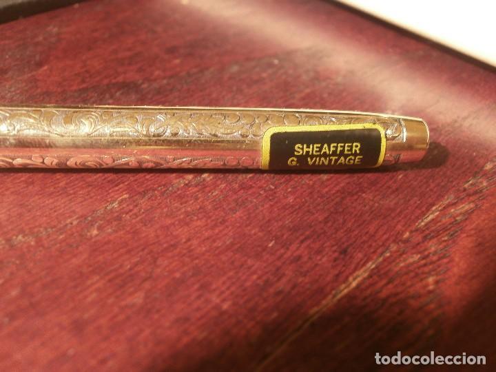 Escribanía: Sheaffer imperial vintage portaminas 12K GF, Sheaffer USA con estuche buen estado - Foto 4 - 118953043