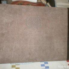 Escribanía: CARPETA LOEWE VADE ANTE Y CUERO PARA ESCRITORIO MEDIDA 42 X 31 CM.. Lote 120135243