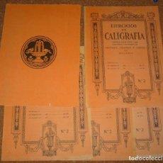 Escribanía - CUADERNOS ANTIGUOS EN OFERTA- CUADERNOS DE CALIGRAFÍA Nº 2 , EDELVIVES LOTE DE 5- SIN USO - 120426179