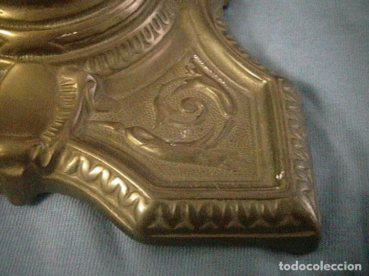 Escribanía: escribanía tintero pluma porcelana bronce - Foto 4 - 123237863