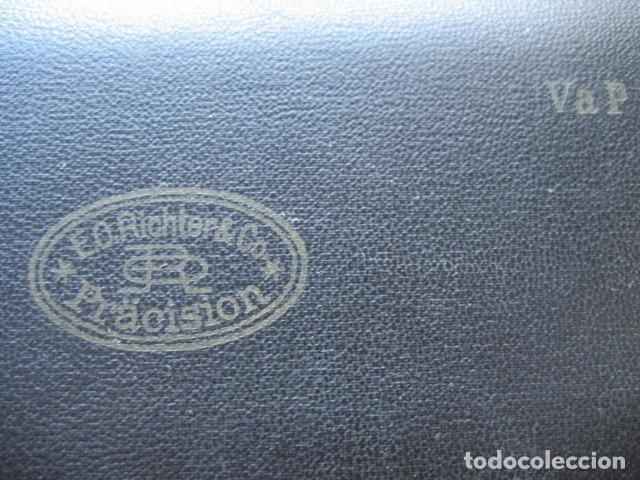 Escribanía: ANTIGUO ESTUCHE DE COMPASES DE PRECISION. RICHTER, ALEMANIA - Foto 3 - 125155347