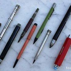 Escribanía: LOTE 10 PORTAMINAS ANTIGUOS, RAROS, CURIOSOS. Lote 127644647