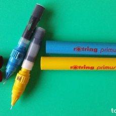 Escribanía: ROTRING PRIMUS. DOS ESTILOGRAFOS AÑOS 80. Lote 128938947