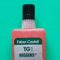 Escribanía: FABER CASTELL TG1 TINTA CHINA ROJA AÑOS 80. Lote 128939103