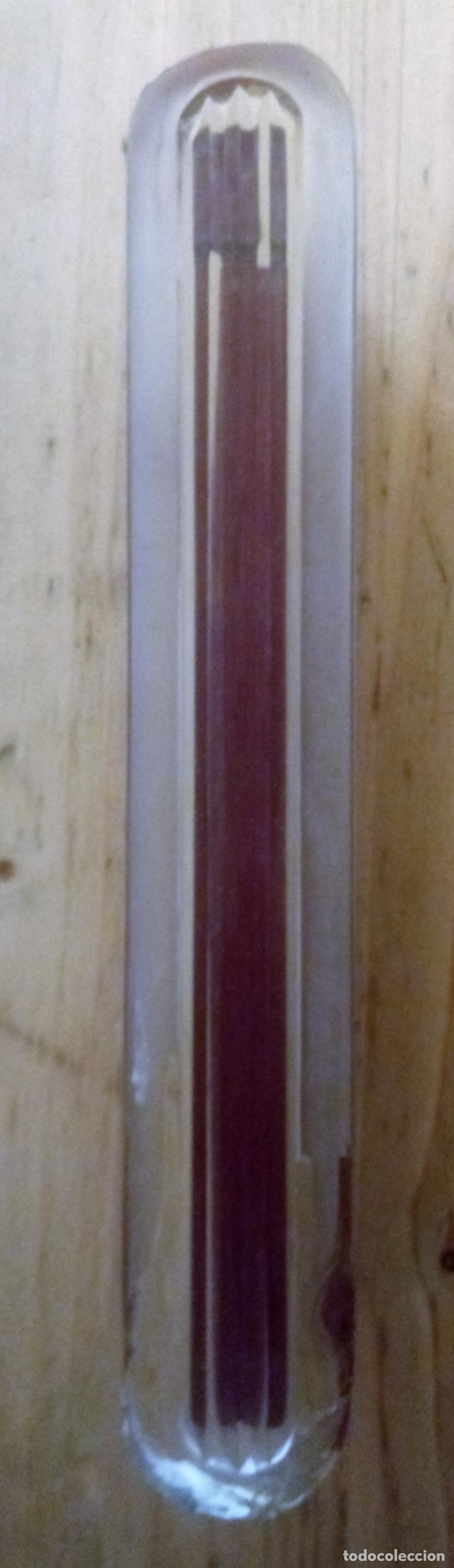 Escribanía: PISAPAPELES DE CRISTAL - 21.5 x 3.5 x 2 CMS - Foto 4 - 129426011