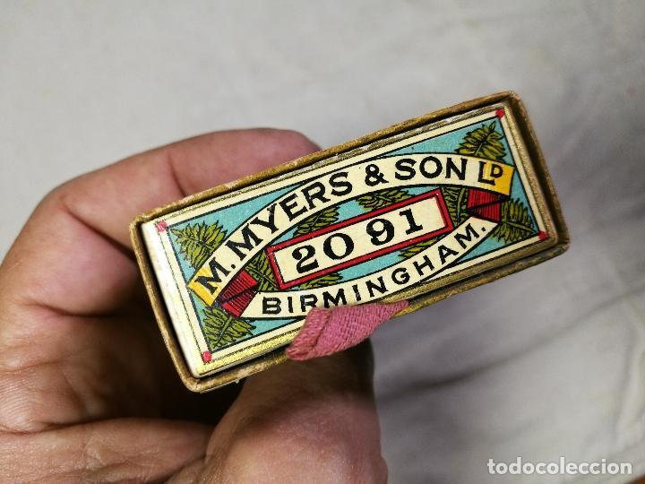 Escribanía: Caja original The Colonial Pen M.MYERS & SON..ENGLAND ...VICTORIANA ...PLUMILLAS - Foto 9 - 131680530