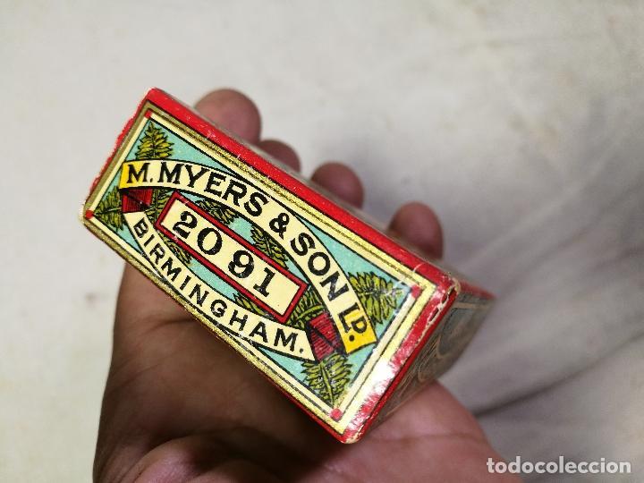 Escribanía: Caja original The Colonial Pen M.MYERS & SON..ENGLAND ...VICTORIANA ...PLUMILLAS - Foto 12 - 131680530