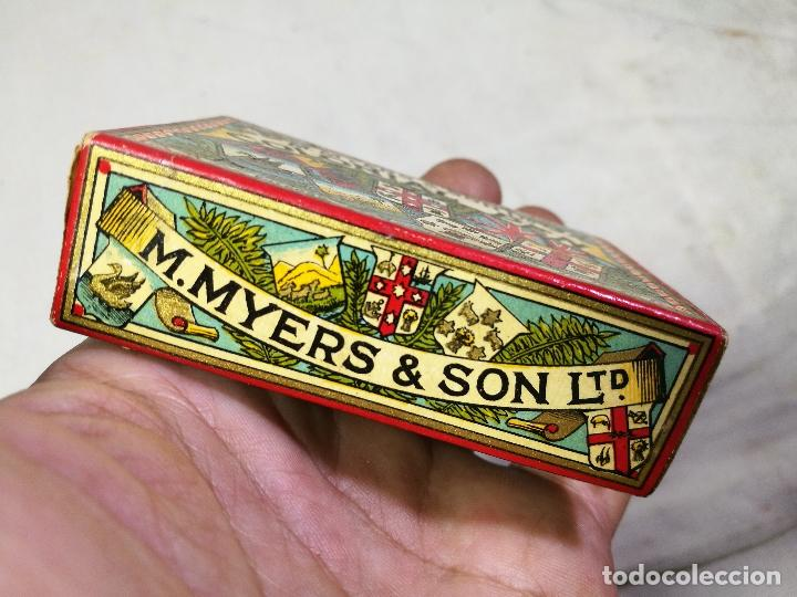 Escribanía: Caja original The Colonial Pen M.MYERS & SON..ENGLAND ...VICTORIANA ...PLUMILLAS - Foto 13 - 131680530