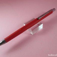 Escribanía: P9990/PORTAMINAS-INOXCROM B600-0.5-ESPAÑA-C.1982-DESCATALOGADO-ROJO-NOS-VER FOTOS. Lote 131708418