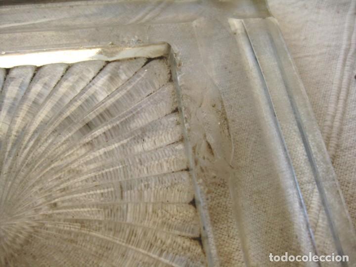 Escribanía: GRAN TINTERO ESCRIBANÍA 2,9 K. DE CRISTAL DE ROCA CON BANDEJA PORTAPLUMAS - Foto 11 - 132635682