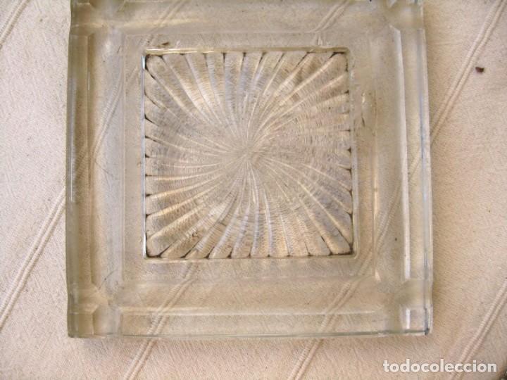 Escribanía: GRAN TINTERO ESCRIBANÍA 2,9 K. DE CRISTAL DE ROCA CON BANDEJA PORTAPLUMAS - Foto 12 - 132635682