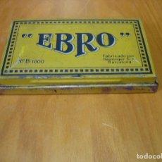 Escribanía: CAJA DE TINTA EBRO B 1000 PARA TAMPONES. Lote 133523466