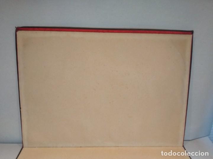 Escribanía: Precioso portafolio art nouveau en piel con escena pintada al oleo - Foto 19 - 134329858