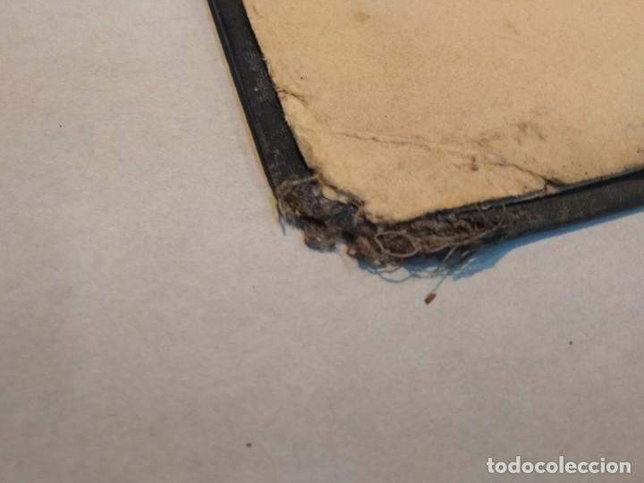 Escribanía: Precioso portafolio art nouveau en piel con escena pintada al oleo - Foto 21 - 134329858