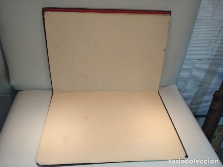 Escribanía: Precioso portafolio art nouveau en piel con escena pintada al oleo - Foto 22 - 134329858