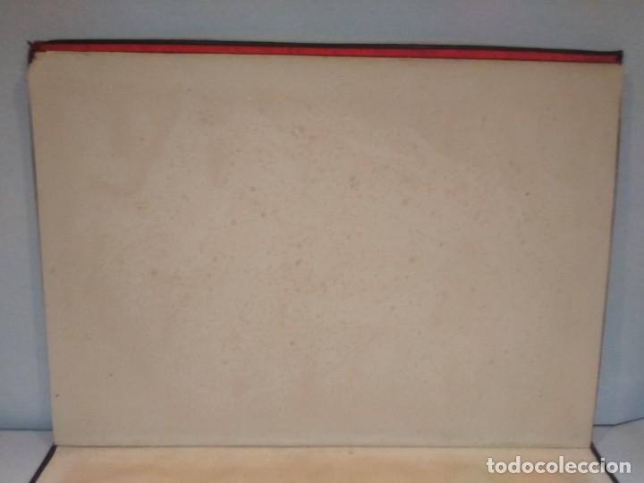 Escribanía: Precioso portafolio art nouveau en piel con escena pintada al oleo - Foto 24 - 134329858