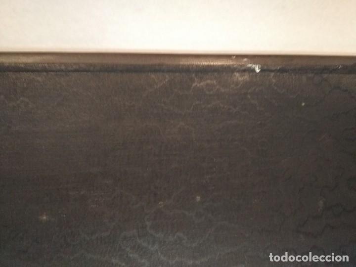 Escribanía: Precioso portafolio art nouveau en piel con escena pintada al oleo - Foto 30 - 134329858