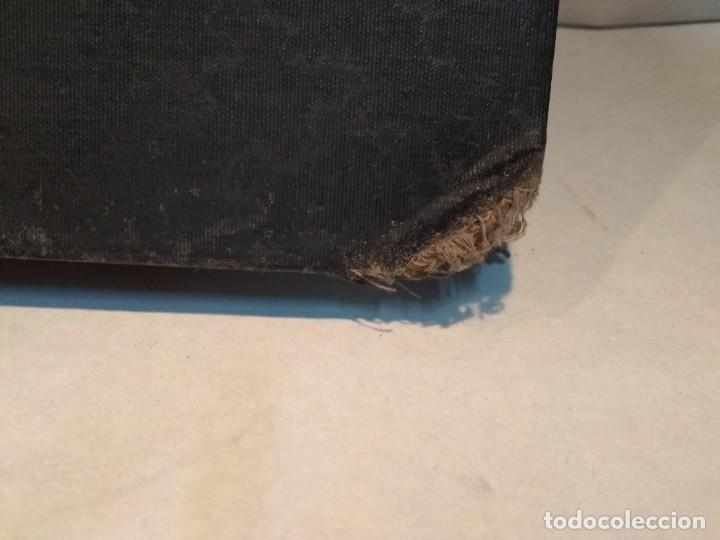 Escribanía: Precioso portafolio art nouveau en piel con escena pintada al oleo - Foto 31 - 134329858