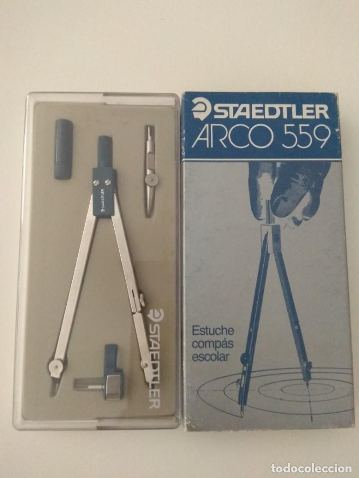 COMPÁS STAEDTLER ARCO 559 (Plumas Estilográficas, Bolígrafos y Plumillas - Plumillas y Otros Elementos de Escribanía)