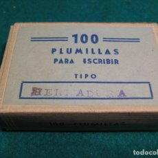 Escribanía: 12 PLUMILLAS HERRADURA Nº ESPAÑA. Lote 138110474