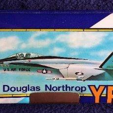 Escribanía: YF-17 MC DOUGLAS NORTHROP. PLUMIER ESCOLAR. ESTUCHE ESCOLAR VACIO AÑOS 80. Lote 139114058