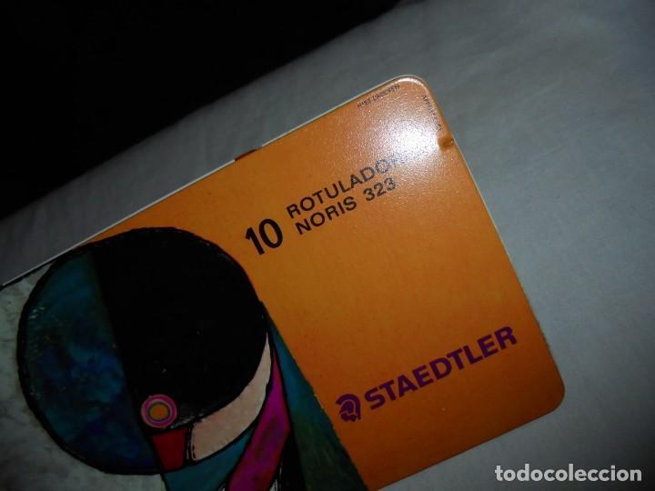 Escribanía: CAJA METALICA DE 10 ROTULADORES NORIS STAEDTLER - Foto 5 - 139209702