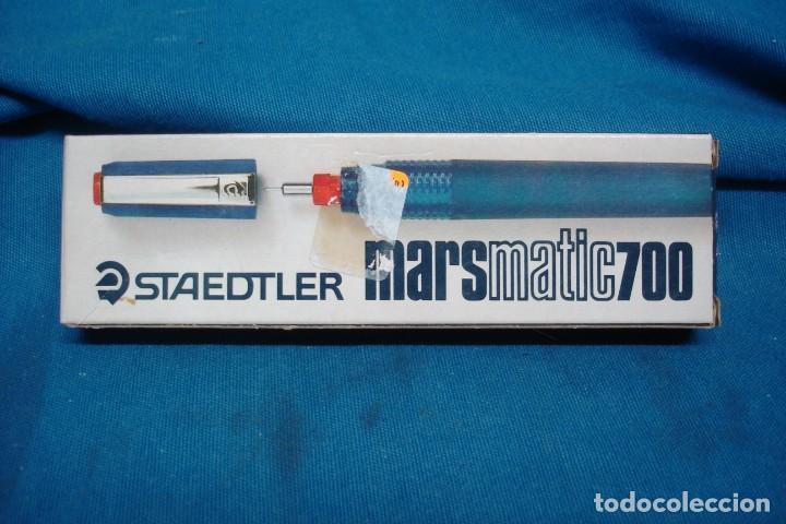 - GRAFO STAEDTLER MARSMATIC700 0,8 MM - NUEVO A ESTRENAR (Plumas Estilográficas, Bolígrafos y Plumillas - Plumillas y Otros Elementos de Escribanía)